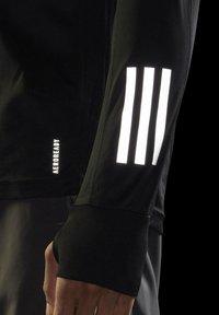 adidas Performance - OWN THE RUN LONG-SLEEVE TOP - Sports shirt - black - 4