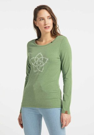 FLORAH A LONG ORGANIC - Long sleeved top - green