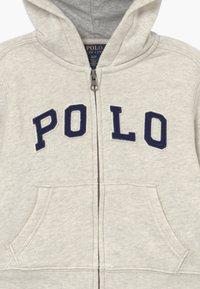Polo Ralph Lauren - Mikina na zip - new sand heather - 3