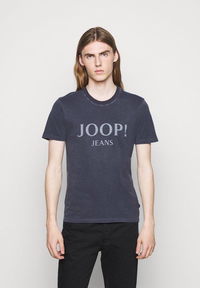 AMBROS  - Print T-shirt - dark blue