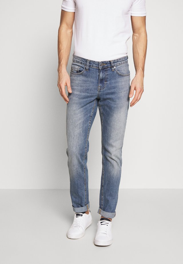 Jeans straight leg - waterfall