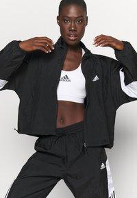 adidas Performance - GAMETI  - Survêtement - black/white - 5