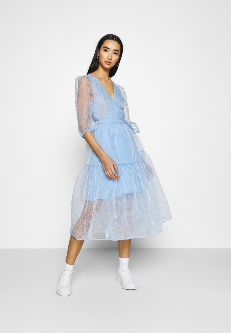 Monki - SARA DRESS - Day dress - blue light
