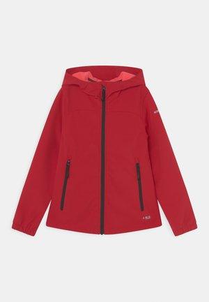 KOBRYN UNISEX - Softshellová bunda - red