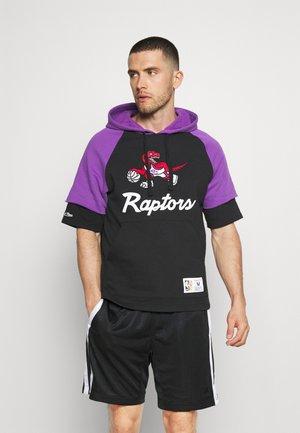 NBA TORONTO RAPTORS HOODY - Squadra - black