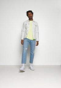 edc by Esprit - NEON DYE - Basic T-shirt - bright yellow - 1
