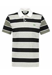 Lacoste - Polo shirt - argent/noir/blanc - 8