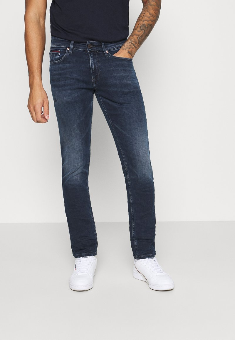 Tommy Jeans - SCANTON SLIM - Slim fit -farkut - dynamic chester blue