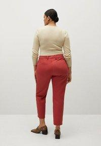 Violeta by Mango - PEPI - Trousers - rot - 2