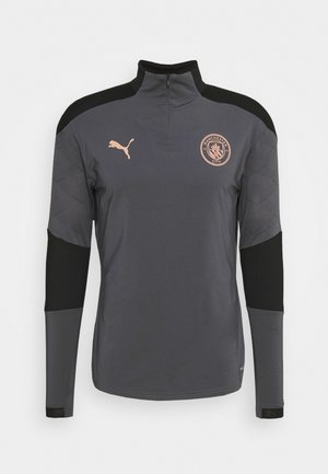 MANCHESTER CITY ZIP - Club wear - asphalt/copper
