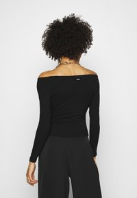 Guess - SONAY - Long sleeved top - jet black - 2
