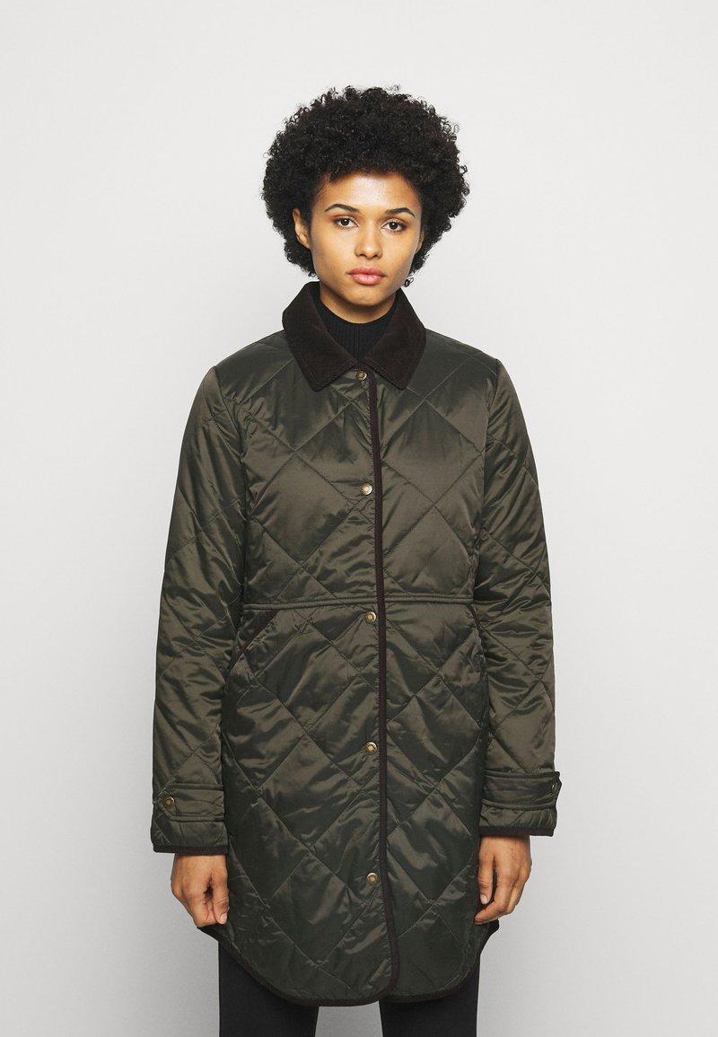 Barbour - PEPPERGRASS QUILT - Winter coat - sage