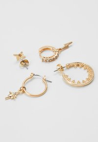 Pieces - PCSPACE 4 PACK - Earrings - gold-coloured - 1