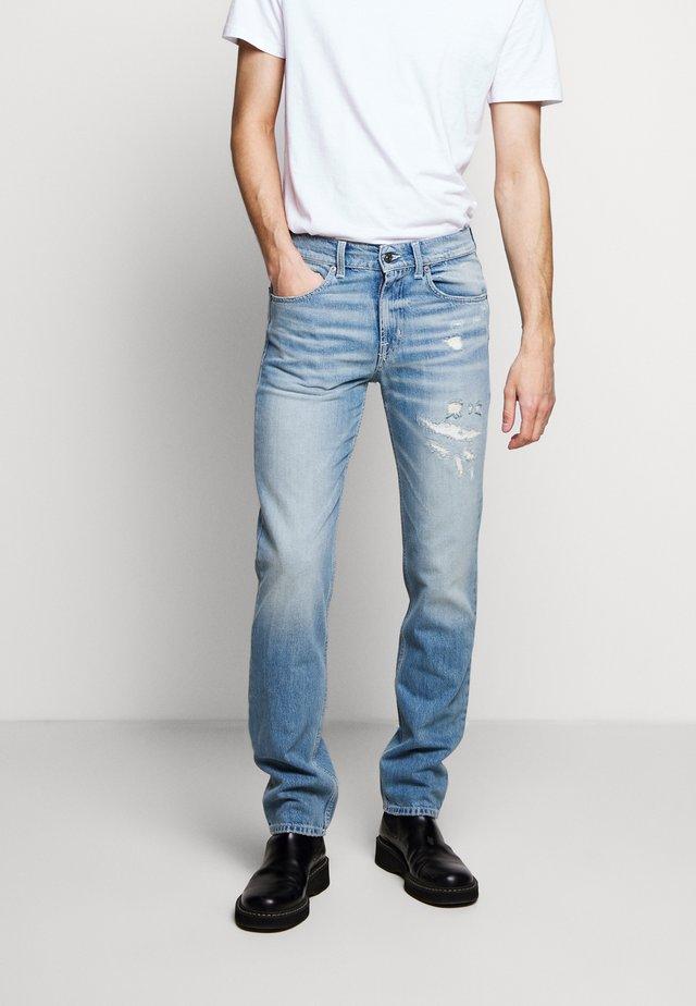 BEVERLY - Vaqueros slim fit - light blue