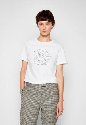 BE HOPPY - Potiskana majica - white