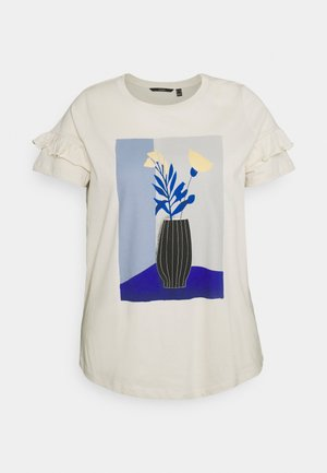 VMSILYA - Print T-shirt - birch