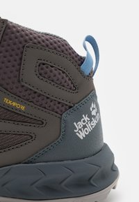Jack Wolfskin - WOODLAND TEXAPORE MID - Outdoorschoenen - grey/light blue - 5