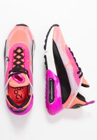 Nike Sportswear - AIR MAX 2090 - Sneakers basse - iced lilac/black/fire pink/flash crimson/summit white/anthracite - 3