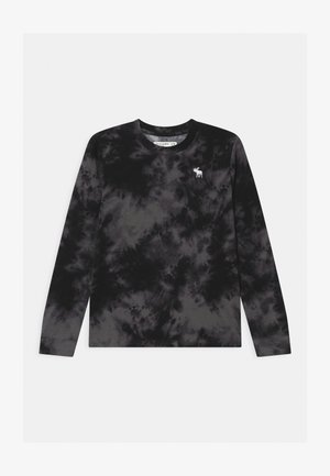 PATTERN - Long sleeved top - black