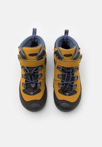 Keen - MID WP UNISEX - Hiking shoes - harvest gold/vintage indigo - 6