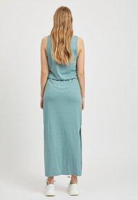 Object - OBJSTEPHANIE MAXI DRESS  - Maxi dress - light blue - 2