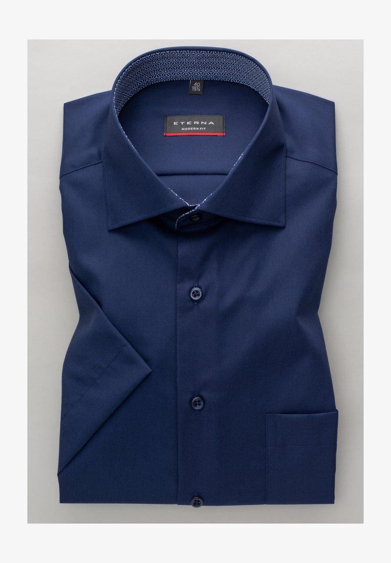 Eterna - MODERN FIT - Shirt - marineblau