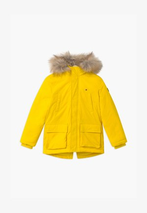 PADDED - Winter coat - yellow