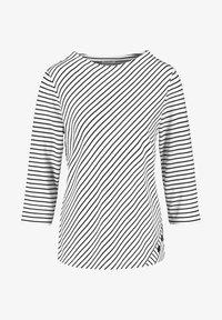 Gerry Weber - Long sleeved top - ecru/weiss/blau ringel - 3