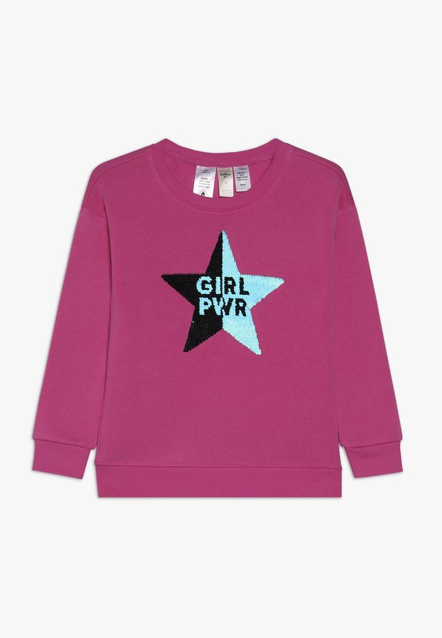 KIDS DROP SHOULDER  - Sweatshirt - pink