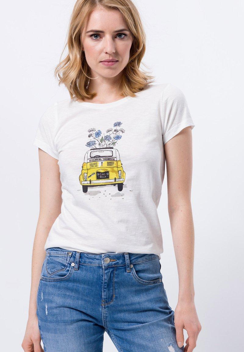 zero - Print T-shirt - offwhite