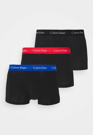 LOW RISE TRUNK 3 PACK - Underkläder - black
