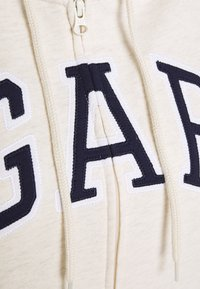 GAP - FASH - Zip-up hoodie - oatmeal heather - 2