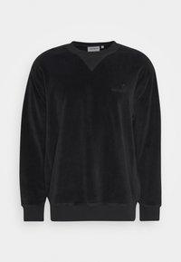 UNITED SCRIPT - Long sleeved top - black
