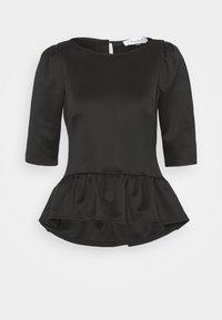 CLOSET ROUND NECK PELUM  - Print T-shirt - black