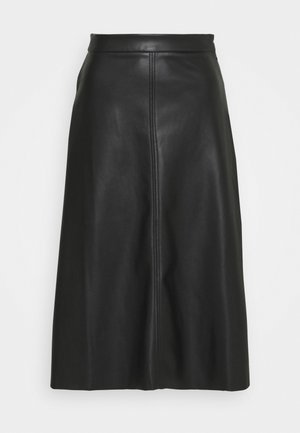 A LINE SKIRT - A-line skirt - black