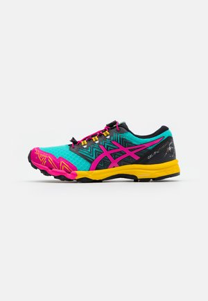 FUJITRABUCO SKY - Trail running shoes - sea glass/pink glow