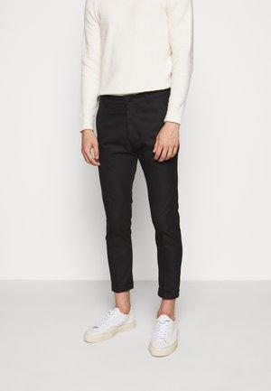 BREW - Trousers - schwarz