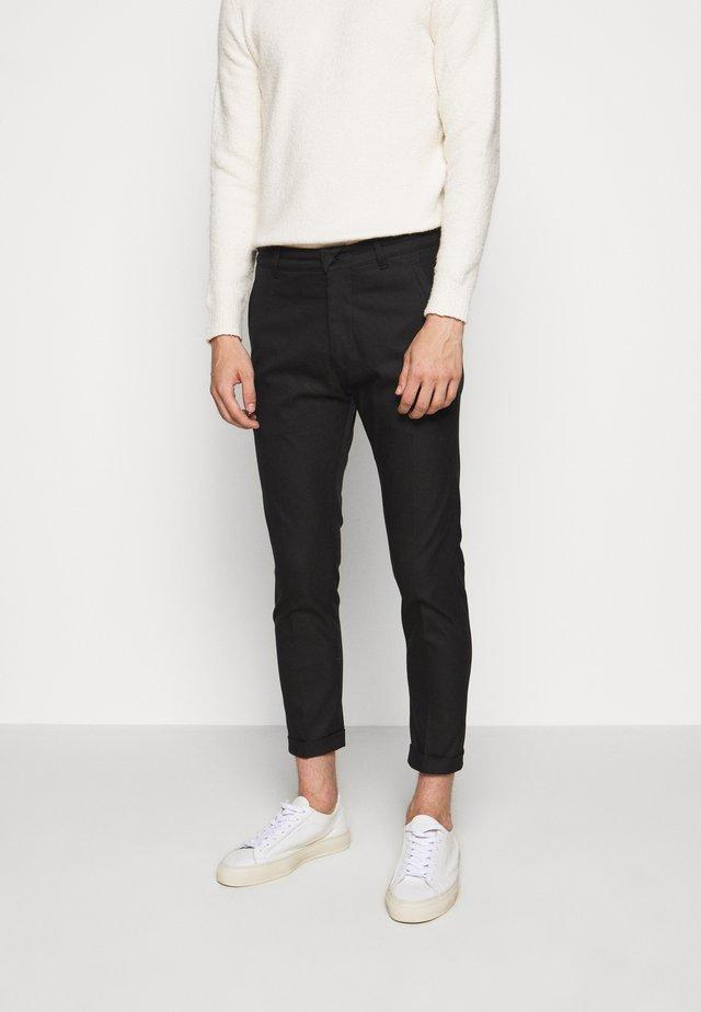 BREW - Pantalon classique - schwarz