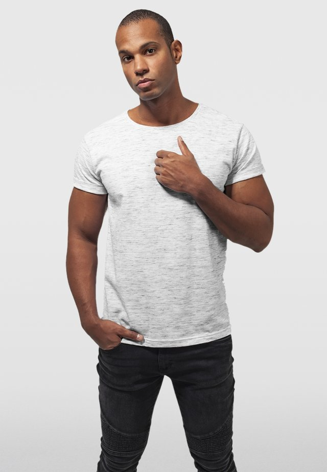 Basic T-shirt - white/grey