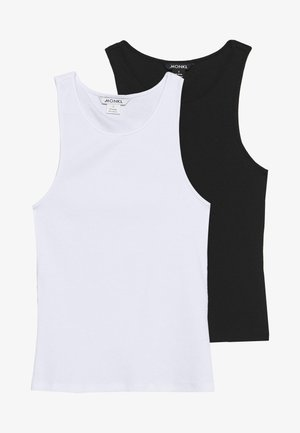ESTELLE SINGLET 2 PACK - Top - black/white