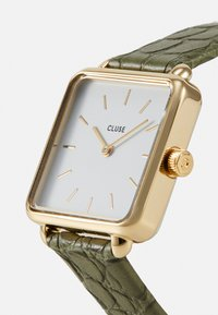 Cluse - LA TETRAGONE - Montre - gold-coloured/white/green - 4