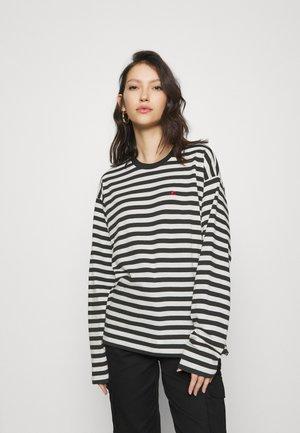 PARKER  - Camiseta de manga larga - black