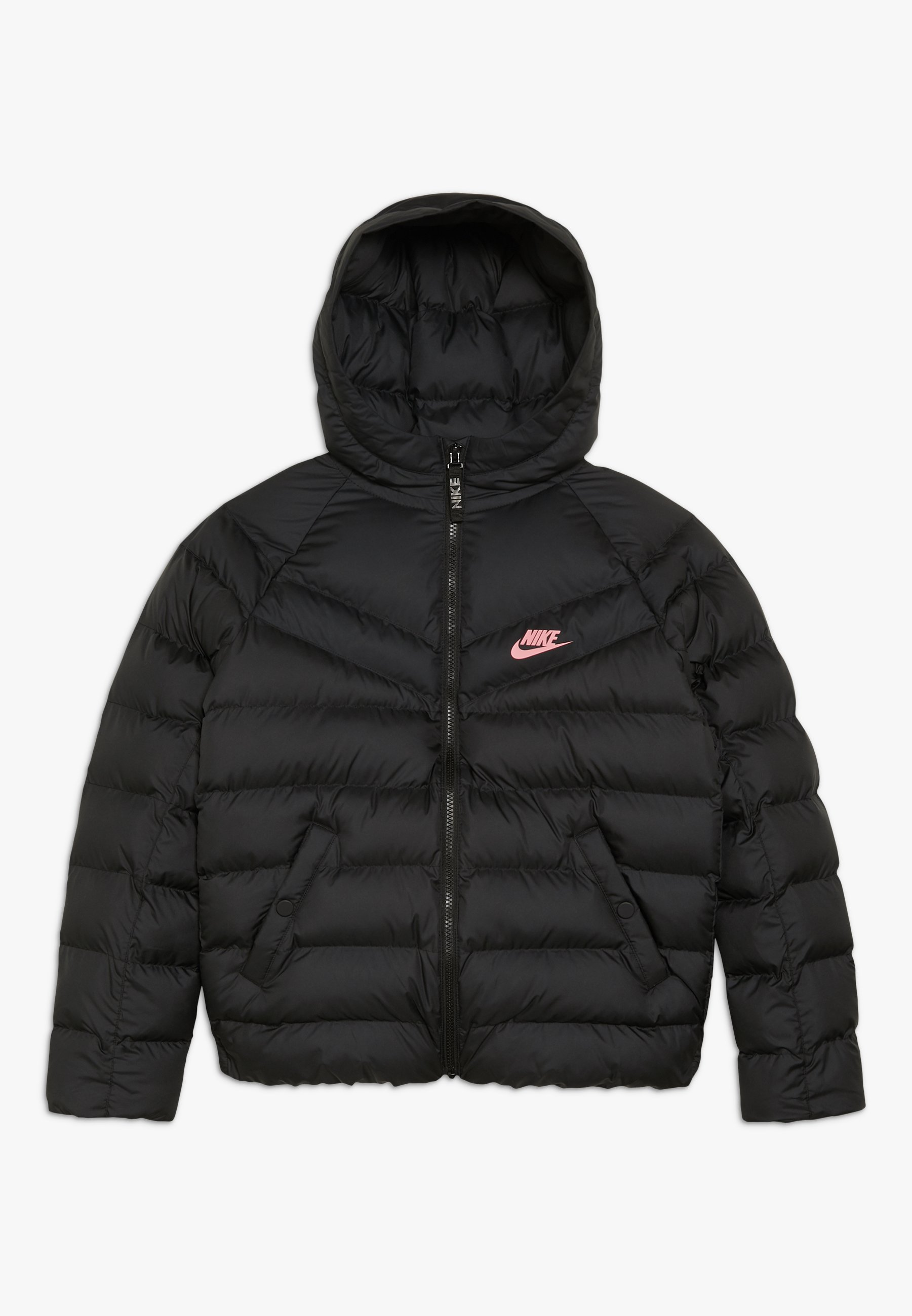 JACKET FILLED Winterjas black