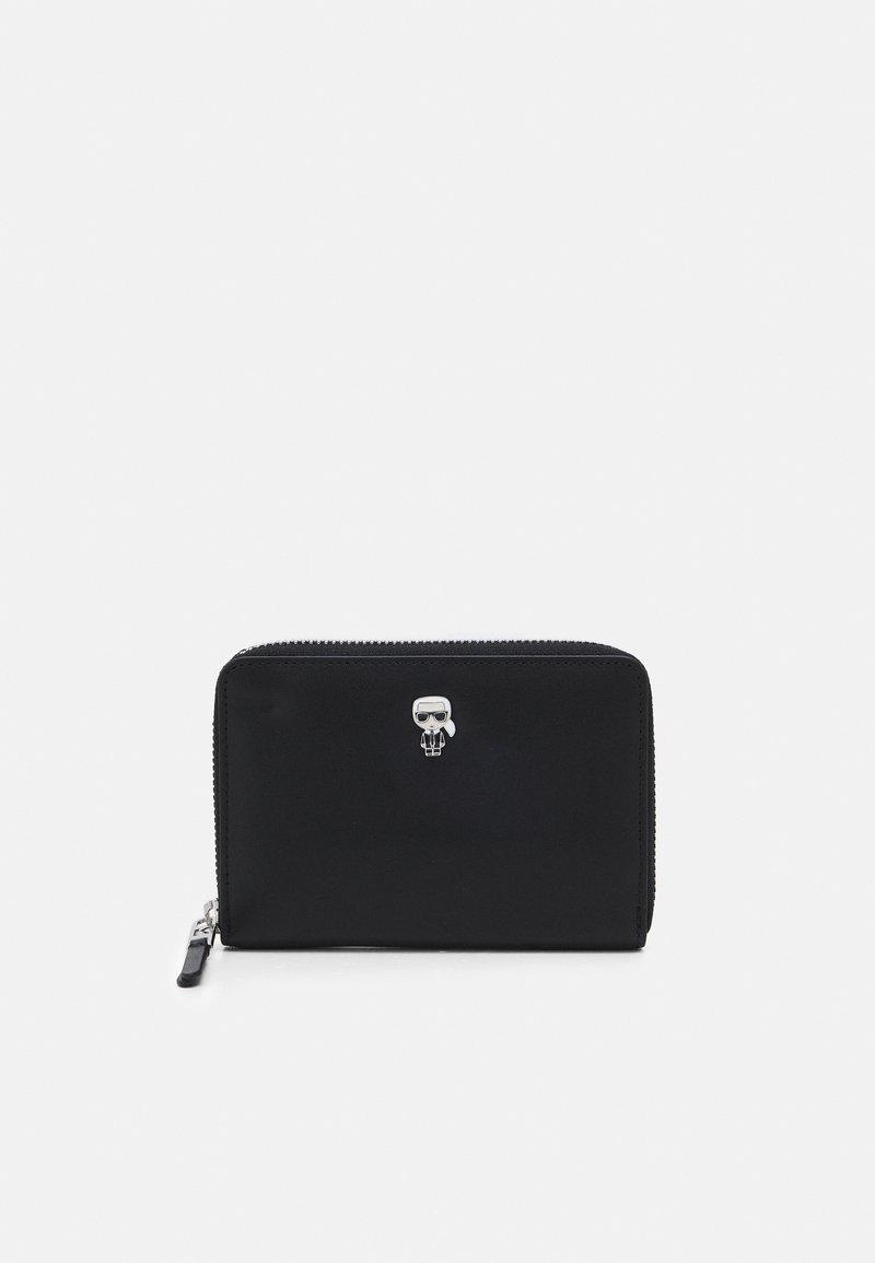 KARL LAGERFELD - IKONIK PIN FOLD WALLET - Wallet - black