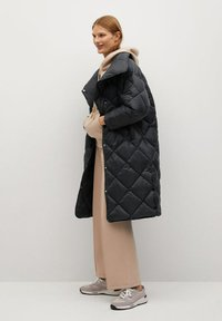 Mango - CROCO - Winter coat - schwarz - 1