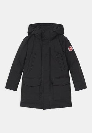BOY MEDIUM LENGHT  - Kabát zprachového peří - black spike