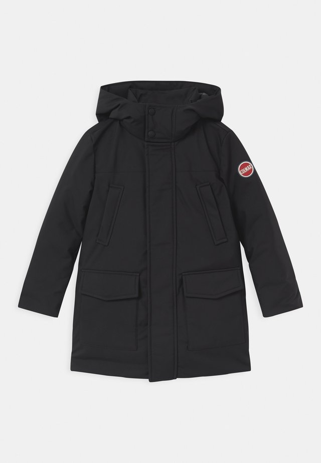 BOY MEDIUM LENGHT  - Down coat - black spike