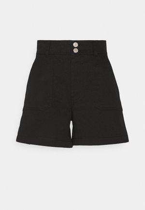 HARPER HIGH RISE - Shorts - black