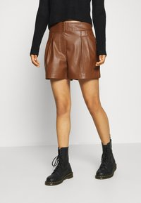 ONLY - ONLCHELLE - Shorts - tortoise shell - 0