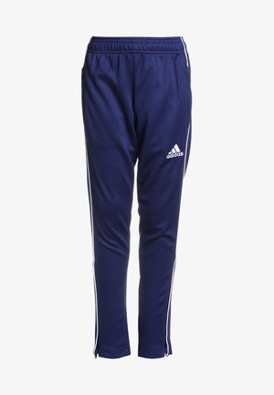 CORE ELEVEN AEROREADY FOOTBALL PANTS - Pantaloni sportivi - dark blue/white